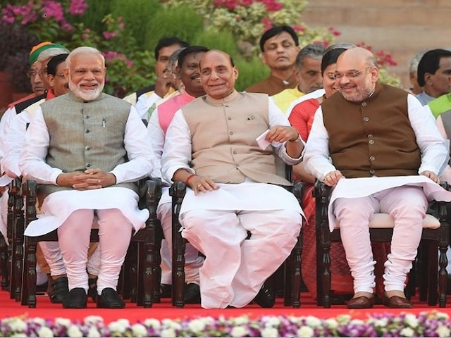 Composition of Cabinet Committees amended; Defence Minister Rajnath Singh now to be part of 6 government panels