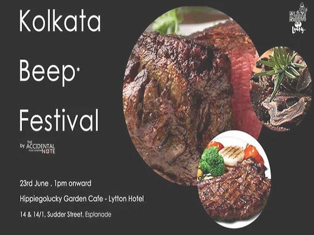 Kolkata beef food festival cancelled after organisers receive over 300 threat calls