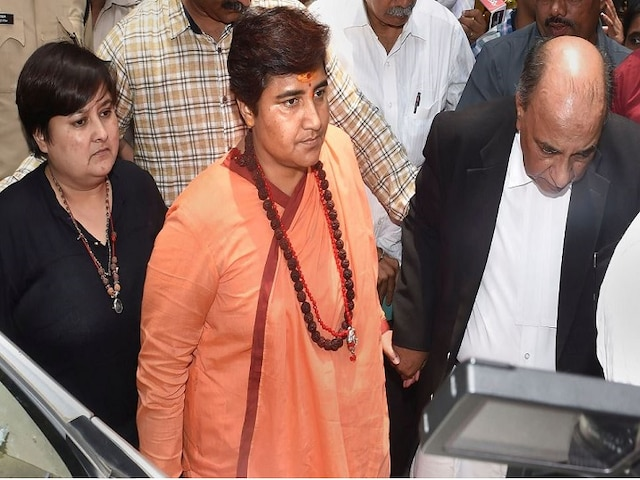 BJP MP Pragya Singh Thakur refuses to sit in court, complains about dust