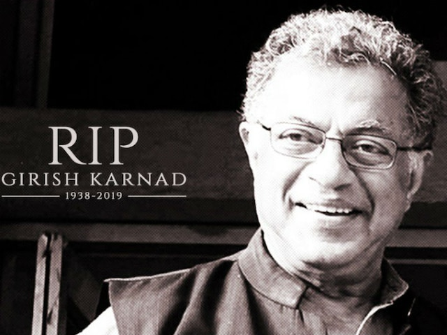 National Film Archive of India pays homage to late actor Girish Karnad