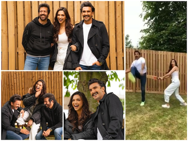Ranveer Singh CONFIRMS wife Deepika Padukone will play Kapil Dev's wife Romi Dev in '83'with a series of PICS