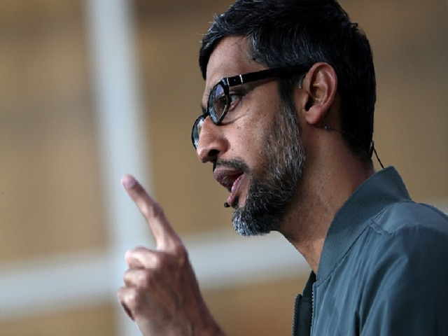 Google CEO Sundar Pichai worries unintended consequences if US govt regulates tech firms for the sake of it