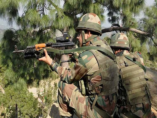 Pakistan ceasefire violation rajouri jammu and kashmir mortar shelling line of control