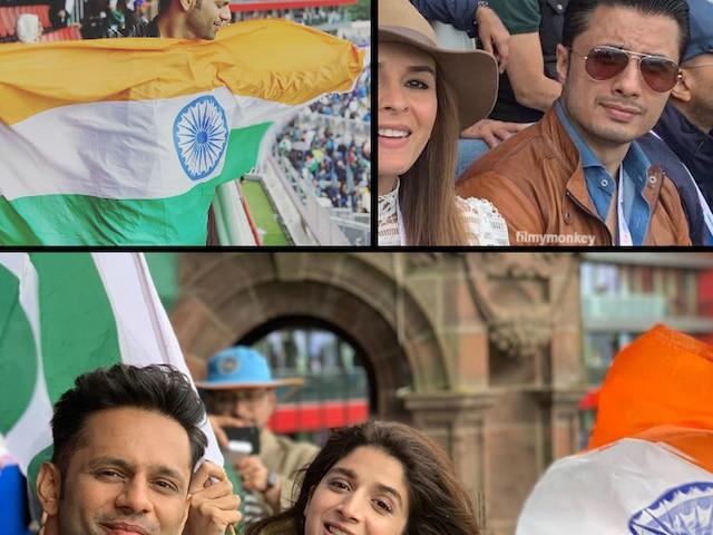 ICC World Cup 2019: Ind Vs Pak: Indian & Pakistani celeb-actors Ali Zafar, Raageshwari, Rahul Vaidya, Mawra Hocane, Ranveer Singh, Rakul Preet Singh watched match together in England!
