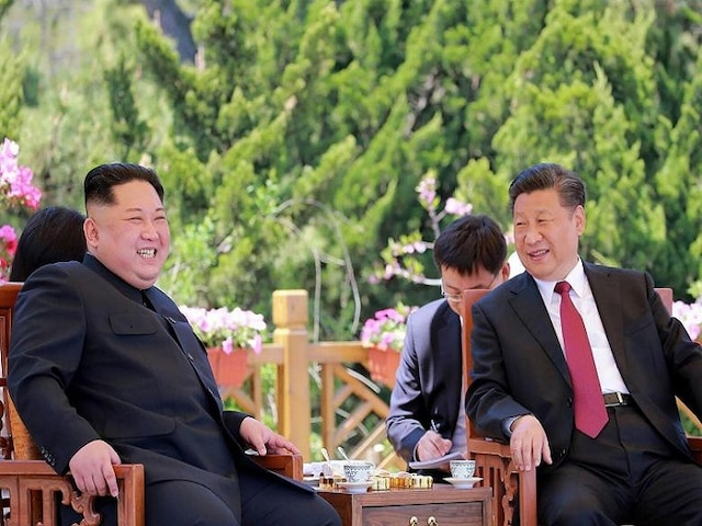 Xi arrives in North Korea to meet Kim ahead of Trump talks