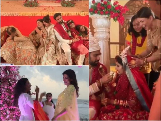 Rajeev Sen Charu Asopa wedding: Sushmita Sen shares more CANDID shots from brother's marriage ceremony in Goa!