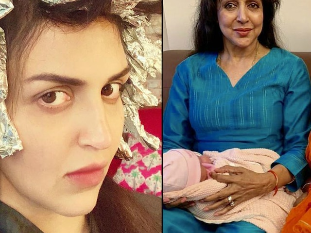 10 days after delivering baby girl Miraya, Esha Deol gets hair colored; Fans troll her!