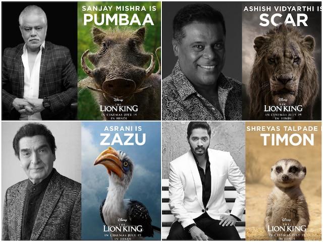 'The Lion King': After Shah Rukh Khan & son Aryan Khan, Ashish Vidyarthi, Shreyas Talpade, Sanjay Mishra and Asrani join the cast