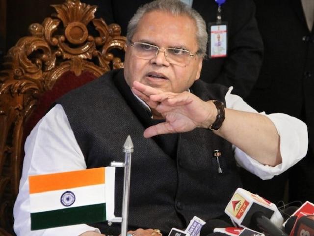 Jammu and Kashmir Governor Satya Pal Malik Says Hurriyat Leaders Ready For Talks With Govt,Calls It Encouraging Sign
