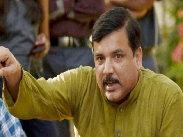 Delhi crimes: AAP MP Sanjay Singh gives a Zero hour notice RS over rising crimes in Delhi
