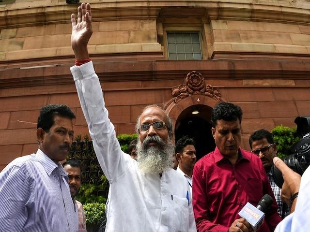 In maiden speech, Sarangi trolls opposition in five languages
