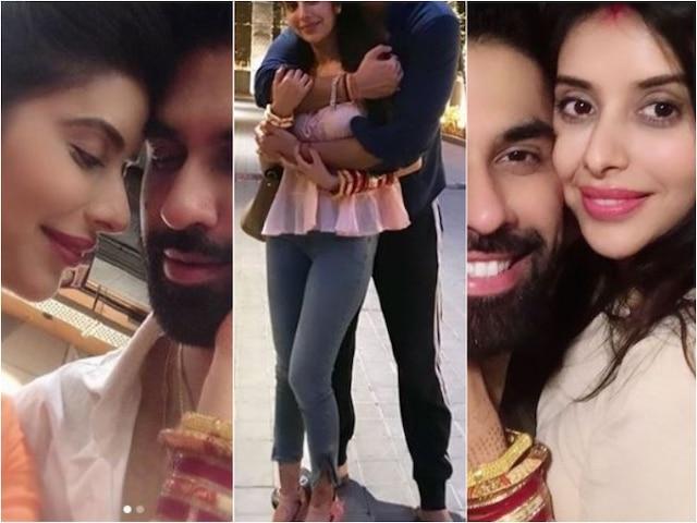 Newlyweds Charu Asopa and Rajeev Sen share lovey-dovey pics on social media