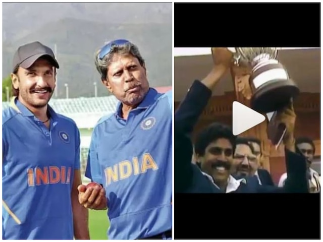 Ranveer Singh celebrates 36 years of India's World Cup win! Watch Video!