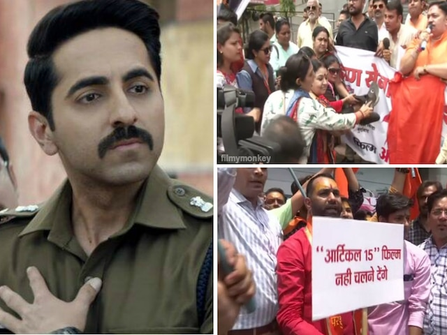Brahmin outfit protests against 'Article 15', says community wrongly portrayed