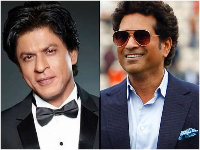 Don't 'Chuck' De Helmet: Sachin Tendulkar Gives Driving Lessons To Shah Rukh Khan, Don't MISS Actor's EPIC reaction