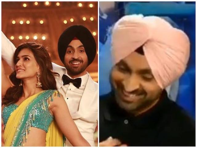 Kriti Sanon Made Her 'Arjun Patiala' Co-Star Diljit Dosanjh blush When They First Met! Watch Video!