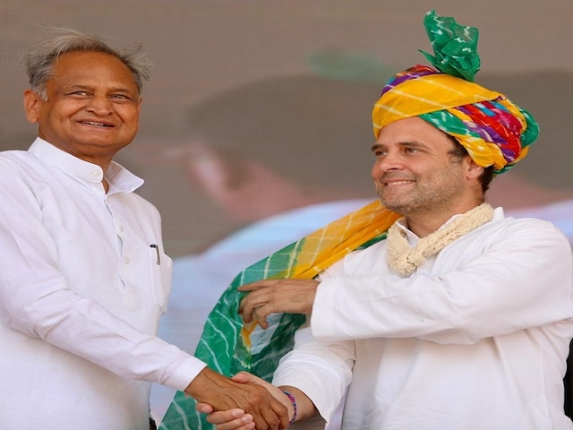 'Only he can lead Congress', says Gehlot ahead of Rahul's meeting with CMs
