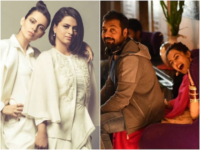 Kangana Ranaut's Sister Rangoli Chandel Tells Anurag Kashyap to Back Off After He Defends Taapsee Pannu in Twitter Spat