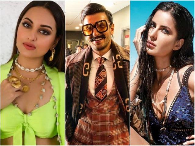 Ranveer Singh Birthday: Katrina Kaif, Sonakshi Sinha & other B-Town celebs wish 'crazy,coolest' actor on birthday