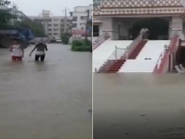 Heavy rains batter South Gujarat's Valsad; water-logging throws life out of gear