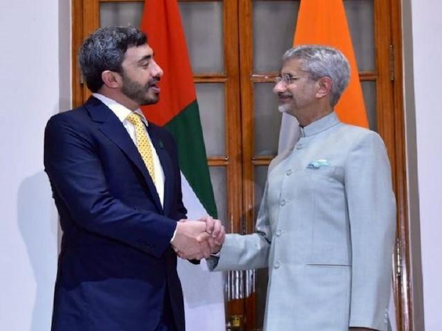 Jaishankar, UAE Foreign Minister hold talks to boost counter-terror efforts