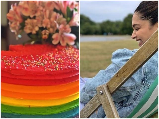 Deepika Padukone Gives Sneak Peek Of Ranveer Singh's Birthday Cake She Got High On!