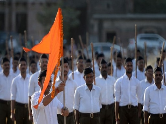 RSS' Role In 'Nation-Building' Part Of Maharashtra Varsity Syllabus