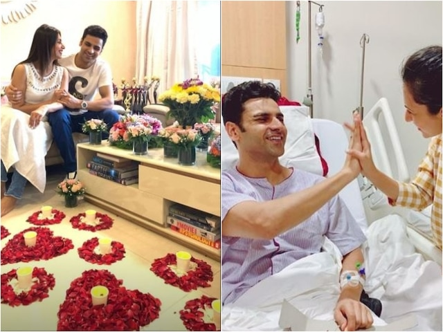 TV actress Divyanka Tripathi Welcomes Hubby Vivek Dahiya Home In The Most Romantic Way As He Gets Discharged From Hospital!