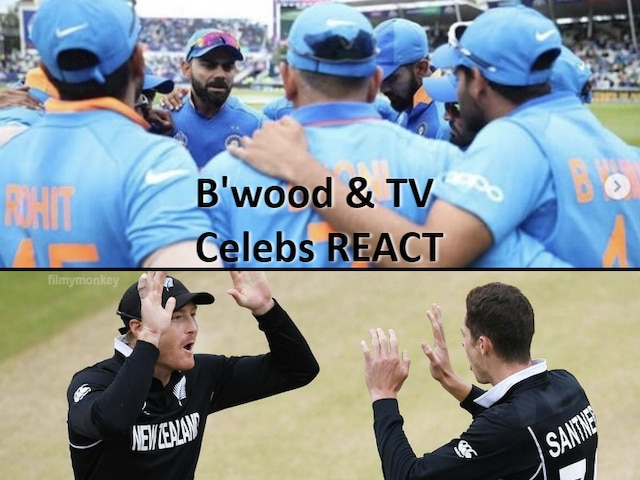 IND vs NZ, ICC World Cup 2019, Semi-Final 1: Bollywood & TV celebs heartbroken yet proud of Team India!