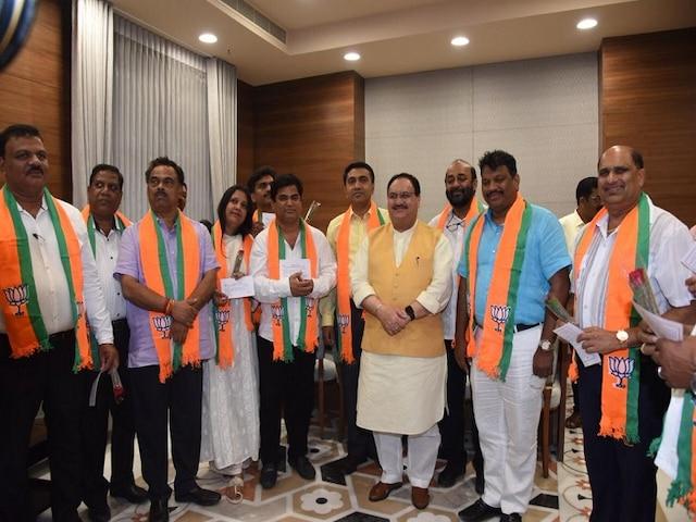 Goa CM Meets Amit Shah, 10 Congress MLAs Formally Join BJP