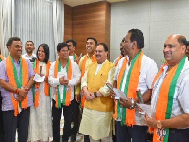 Goa Cabinet Reshuffle Today: 3 Out Of 10 Congress MLAs Who Joined BJP To Get Ministerial Posts