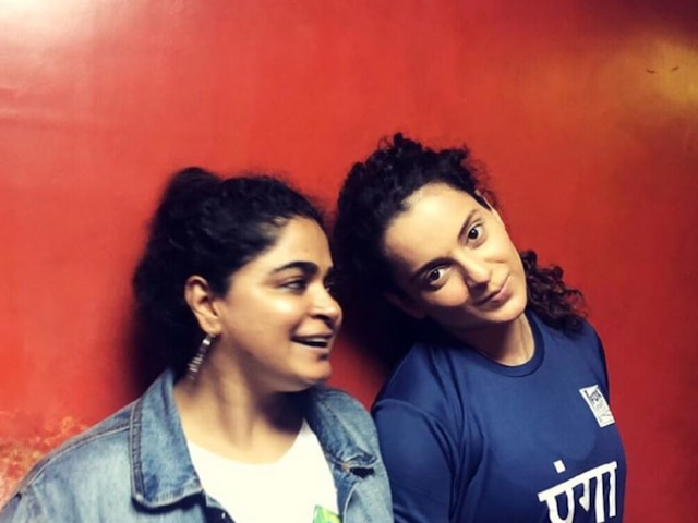 Ashwiny Iyer Tiwari Wraps Up 'Panga' Chapter, Thanks Kangana Ranaut