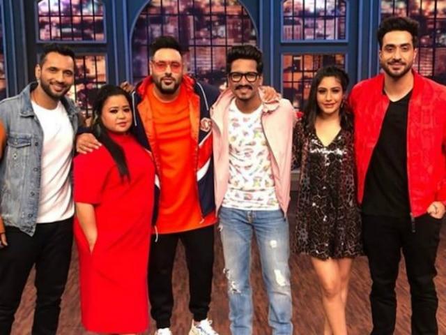 Khatra Khatra Khatra: 'Sanjivani 2' Actress Surbhi Chandna, 'Kullfi Kumarr Bajewala' Actor Mohit Malik & Rapper Badshah in Bharti Singh's Colors show! See Pics & Video!
