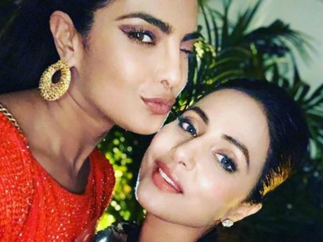 Happy Birthday Priyanka Chopra: 'Kasautii Zindagii Kay' Actress Hina Khan Wishes 'Desi Girl'; Posts Unseen Video From Their Cannes Meeting!