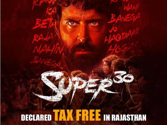 After Bihar, Hrithik Roshan's 'Super 30' Tax Free In Rajasthan; Actor Thanks CM Ashok Gehlot