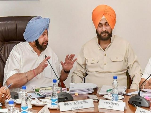 Punjab Chief Minister accepts Sidhu's resignation