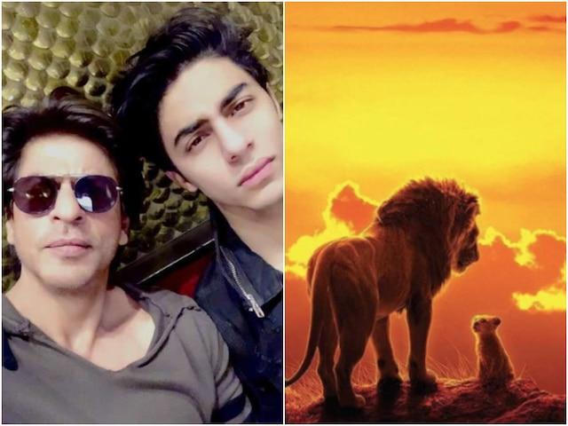 The Lion King: Shah Rukh Khan Thanks Co-stars For Making Him & Son Aryan Khan Sound Good