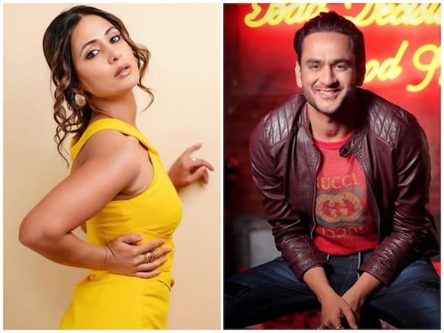 Cold War Between 'Kasautii Zindagii Kay' Actress Hina Khan & 'Bigg Boss 11' co-contestant Vikas Gupta?