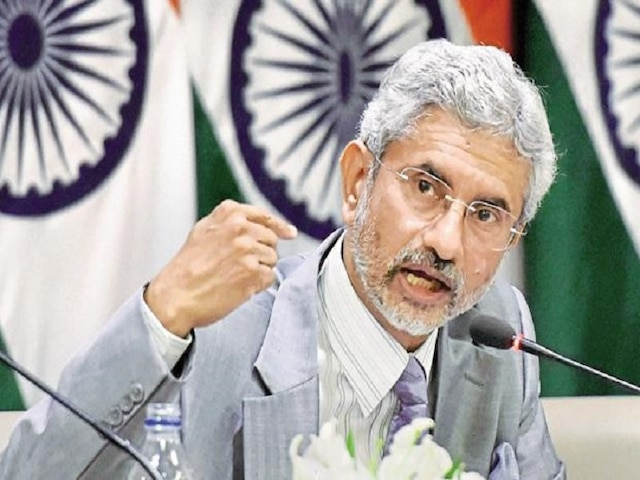 External Affairs Minister S Jaishankar Indian Embassy In Tehran Working For Early Release Of Indians on seized tanker