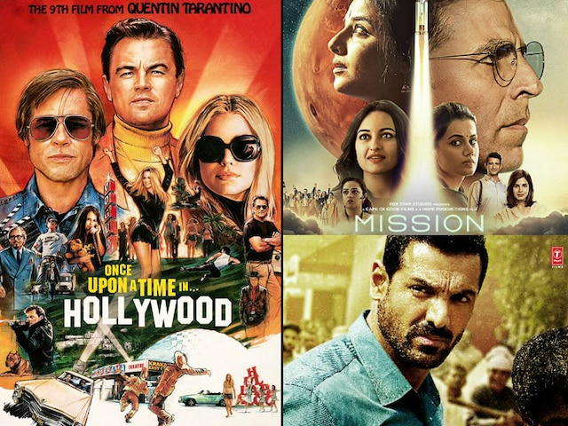 Leonardo DiCaprio, Bradd Pitt's 'Once Upon A Time In Hollywood' to clash with Akshay Kumar's 'Mission Mangal' & John Abraham's 'Batla House' on Aug 15