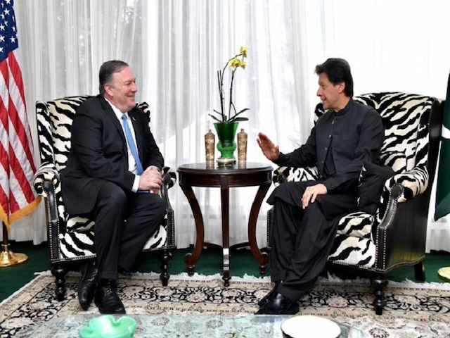 Pompeo Meets Imran Khan, Discusses Pak's Role In Afghan Peace Process, Counter-terrorism