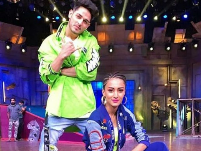 Khatra Khatra Khatra: 'Kasautii Zindagii Kay' Actress Erica Fernandes With Hina Khan's BFF Priyank Sharma In Bharti Singh's Colors Show! See Pics & Video!