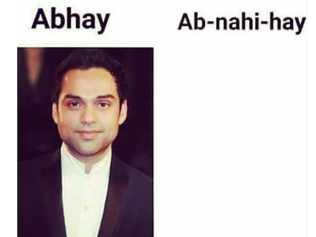 Abhay Deol jokes about why he is rarely seen on screen