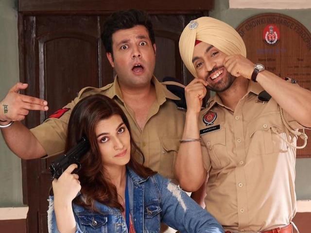 Kriti Sanon & Diljit Dosanjh 'Arjun Patiala' Film REVIEW: Drab Humour