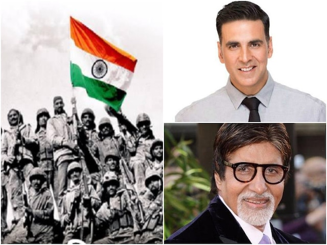 Amitabh Bachchan, Akshay Kumar & Other Bollywood Celebs Pay Homage To Soldiers On Kargil Vijay Diwas