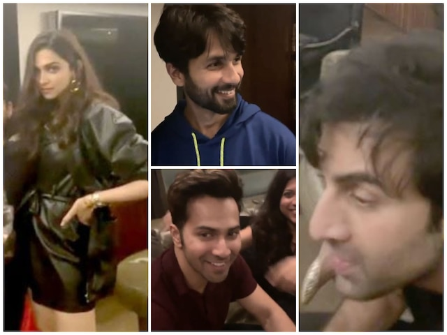 Deepika Padukone, Shahid Kapoor, Ranbir Kapoor, Vicky Kaushal, Varun Dhawan & Others At Karan Johar's House For Saturday Night Party! Watch Video!