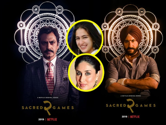 Saif Ali Khan doubts if Sara, Kareena Kapoor watched 'Sacred Games'