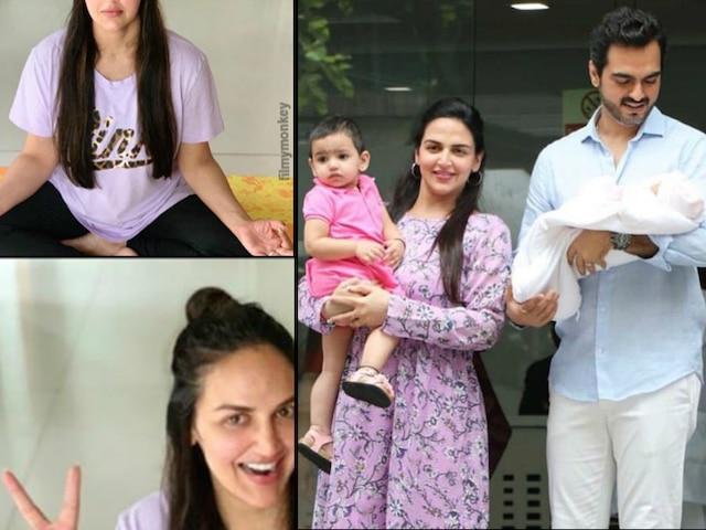 2 months after delivering baby girl Miraya Takhtani, Esha Deol gets