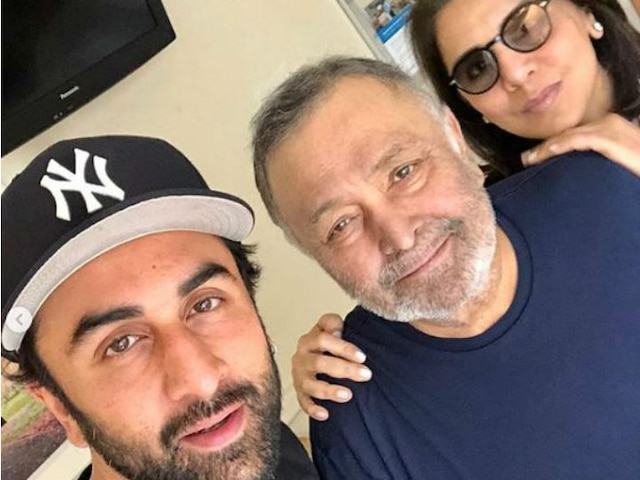 Rishi Kapoor Completes 10 Months In New York