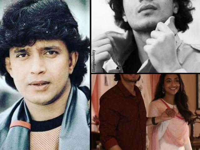 'Bad Boy' first look: Mithun Chakraborty's youngest son Namashi wraps his debut film shoot, Amrin plays female lead in Rajkumar Santoshi's rom com!